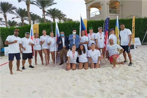 اختتام بطولة الكرة الطائرة الشاطئية في «شرم الشيخ»