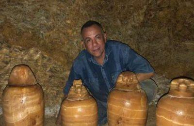 الكشف عن مقبرة المشرف على الخزانة الملكية «بادي است» بالمنيا
