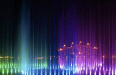 على أنغام موسيقى ديزني، دبي تفتتح أكبر نافورة في العالم