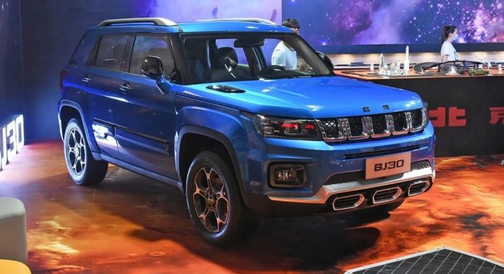 "Beijing الصينية تنافس ""Jeep"" الأمريكية بسيارة جديدة رباعية الدفع"