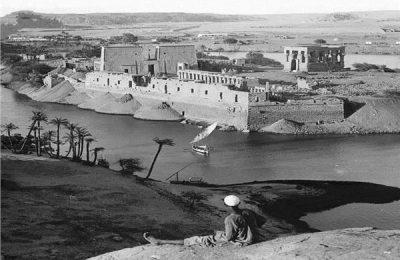 جزيرة فيلة ومعابدها بأسوان عام ١٩٠٥