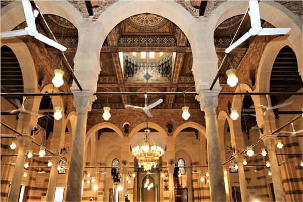 افتتاح مسجد الإمام الشافعي بعد ترميمه وإقامة شعائر صلاة الجمعة
