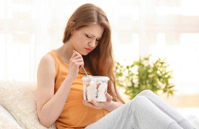 أضرار الآيس كريم أثناء الحمل