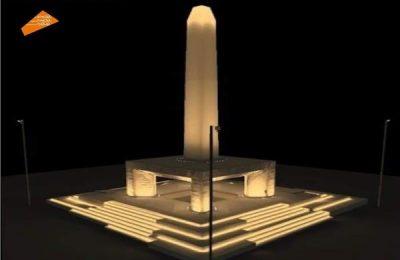 المتحف المصري الكبير ينتهي من تركيب المسلة المعلقة الفريدة