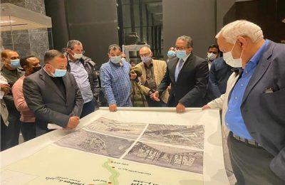 التجهيزات النهائية لمتحف عواصم مصر بالعاصمة الإدارية الجديدة