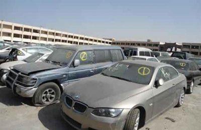 """مزادات الخدمات الحكومية لبيع """"سيارات مستعملة"""" في يناير أبرزها يتبع لمطار القاهرة"""