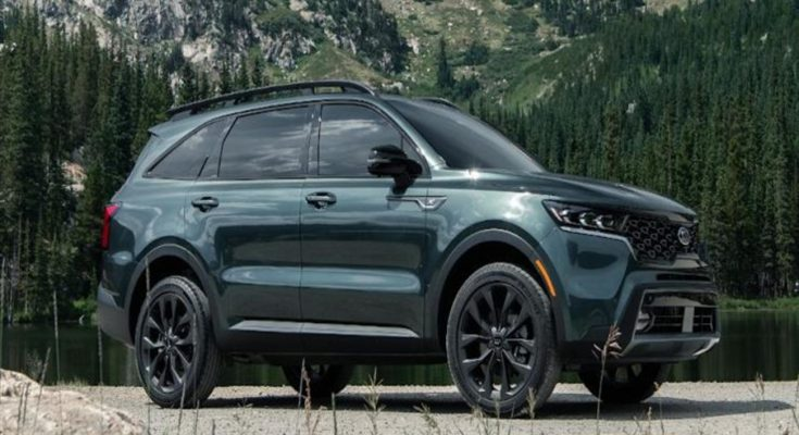 كيا سورينتو تفوز بلقب أفضل سيارة SUV كبيرة لعام 2021