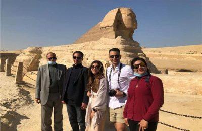 أخرهم خالد النبوي.. فنانون ورياضيون روجوا للسياحة المصرية